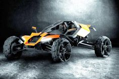 AUSTRIAN MOTORCYCLE giant KTM has unveiled a new range of sports concept vehicles, which include a racing hydrofoil, an off-road buggy and an electric powered race ...