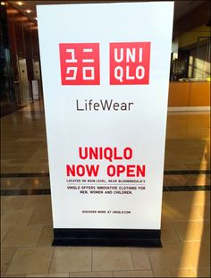 UNIQLO® Store Opening Mall Advertising
