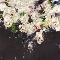 Art Public auctions: Early American Art – Buy Abstract Art Right Art Floral, Artwork Display, Flowers Nature, Dark Flowers, Art Auction, Botanical Art, Paintings For Sale, Medium Art, Beautiful Paintings