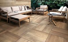 Porcelain Stoneware Pavers for Non-Combustible Rooftop Decks