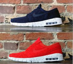 Nike SB Janoski Max-Navy and Red (Spring 2014) Preview