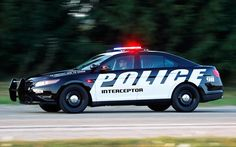 2012 Ford Taurus Police Interceptor @Aren Sandersen