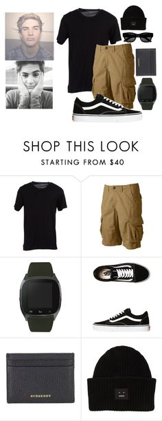 """""""OOTD-John"""" by lauren2900 ❤ liked on Polyvore featuring Dolce&Gabbana, Urban Pipeline, iTouch, Vans, Burberry, Acne Studios, Sun Buddies, men's fashion and menswear"""