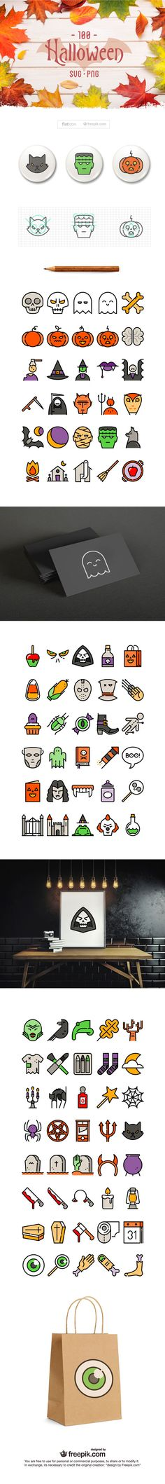 Free Halloween icon pack to download today | Design | Creative Bloq
