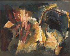 Κοντόπουλος Αλέκος – Alekos Kontopoulos [1904-1975] Part.II | paletaart3 – Το φιλί Maria Emilia, Abstract, Painting, Saints, Greece, Artists, Summary, Painting Art, Paintings