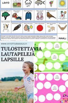 Viitotturakkaus.fi sivustolta löydät kivoja lautapelejä ja muuta jännää tulostettavaa lasten iloksi. Lisää materiaalia tulee koko ajan! Word Search, Map, Words, Location Map, Maps, Horse