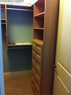 The smaller the closet, the bigger the need for maximization!