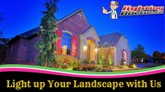 Light up Your Landscape with Us #LightingFixtures #LightingDoctor #InstallLighting www.lightingdoctor.ca
