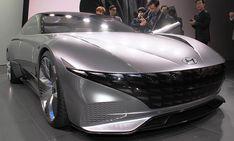 Hyundai Le Fil Rouge (2018) Car Design Sketch, Vehicles, Sports, Luxury Sports Cars, Sons, Hs Sports, Car, Sport, Vehicle