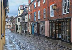 Historic part of Norwich