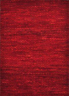 Modernrugs Royce Red Modern Textured Rug