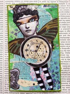 Time Themed Zetti Skinny by gillmangirl, via Flickr
