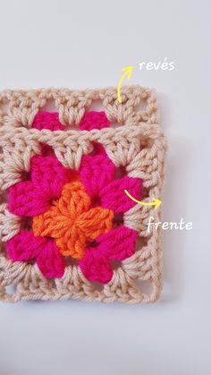 CÓMO UNIR CUADRADOS DE CROCHET CON PUNTO DESLIZADO – CHINITA Lana, Crochet Patterns, Crochet Square Patterns, Strands, Crochet Blankets, Tutorials, Tejidos, Embroidery, Crochet Chart