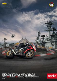 Aprilia RSV4 ABS Ready For A New Race by Luca Eremo, via Behance