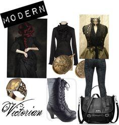 """Modern victorian"" by natashamarie87 on Polyvore"