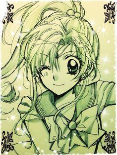 Manga artist Arina Tanemura (Full Moon wo Sagashite, Kamikaze Kaitou Jeanne) draws the Sailor Senshi~ http://www.crunchyroll.com/anime-news/2014/05/05/manga-artist-arina-tanemura-sketch-sailor-moon-cast