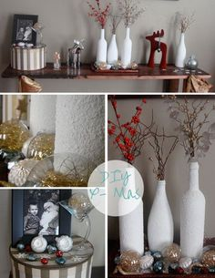 My Pinterest inspired DIY Christmas decor
