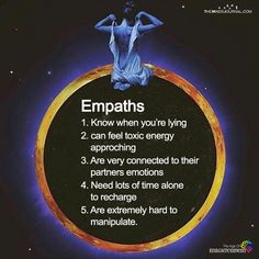 This is true when said empath is balanced and aligned. if not all that is said 👈🏾goes out of the window. the empath is . Empath Traits, Intuitive Empath, Empath Types, Empath Abilities, Psychic Abilities, Psychic Powers, Yo Superior, Trauma, Highly Sensitive Person