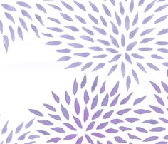 summer mums  fabric by domesticate on Spoonflower - custom fabric, $18