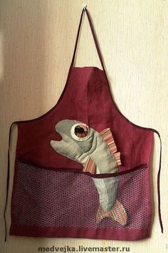 Contemporary Aprons, Modern Aprons, Victorian Aprons, Aprons Vintage, Fabric Origami, Cute Aprons, Sewing Aprons, Linen Apron, Love Sewing