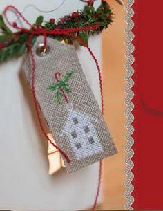 Etiquetas para regalos de navidad