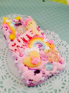 Kawaii Pastel Rainbows Sweet Deco Case for Samsung by Lucifurious, $40.00