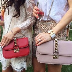 Two Valentino bags are better than one.