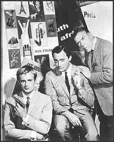 Kuryakin, Solo, and Waverly-----love these spies!  Who could ever forget The Man From UNCLE?