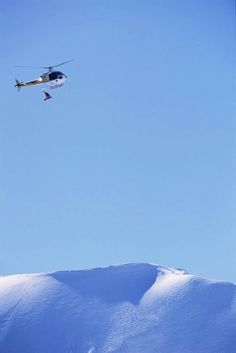 The legendary Mike Basich heli drop.... Unreal!