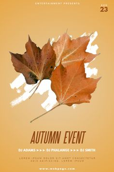 53 best fall autumn flyers images on pinterest in 2018 end of
