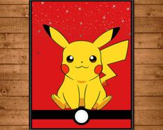 Pokemon Banner Red & White Pokemon Birthday by NineLivesNotEnough                                                                                                                                                                                 More