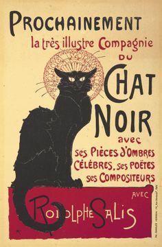 Chat Noir / Prochainement. 1896