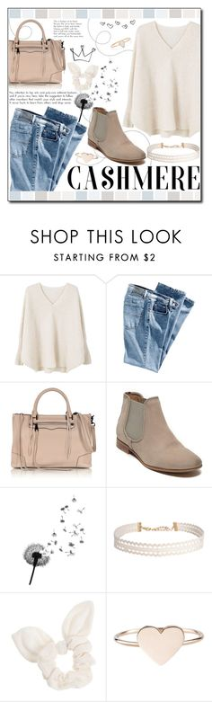 """""""Cozy Cashmere Sweaters"""" by ana-a-m ❤ liked on Polyvore featuring MANGO, Rebecca Minkoff, Tommy Hilfiger, Humble Chic, Dorothy Perkins, Catbird and cashmere"""
