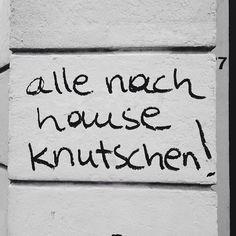 Knutschen!