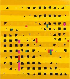 Oleksiy Koval, Untitled Solo, 2016 69 x 60 cm, paper, tape, marker on MDF   Oleksiy Koval, Melancholiker, 2016 230 x 220 mm, watercolor on carton Photo © Klaus Mauz   Oleksi…