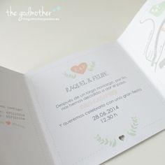Invitación de boda- invitación boda hipster - invitación boda diferente- Invitación hipster formato plegable Disponible: http://www.thegodmothergoodies.es/shop/es/165-invitación-boda-hipster-plegable.html Ver:http://thegodmothergoodies.wordpress.com/2014/04/02/invitaciones-de-boda-2014/