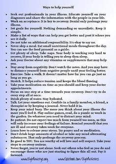 Tips for dealing with anxiety disorders But why wait for a disorder. Good practice starts now.