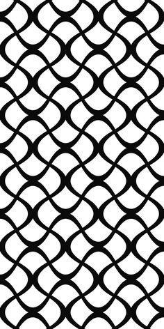 Stencil Patterns, Stencil Designs, Cool Patterns, White Patterns, Textures Patterns, Graphic Patterns, Vector Pattern, Pattern Art, Pattern Design