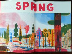 Spring - seasons book - by Blexbolex