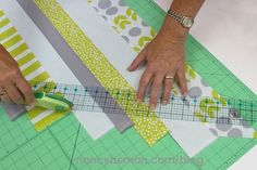 How To A Sew Scrappy Quilt Binding