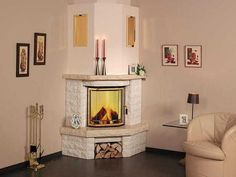 угловые камины - Поиск в Google Home Fireplace, Apartment Living Room, Fireplace Design, Home Decor, Living Room Interior, Indoor Fireplace, Bedroom Decor, Interior Design, Living Room Designs