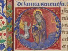 Horae ad usum Parisiensem. Date d'édition : 1401-1500 Type : manuscrit Langue : latin http://gallica.bnf.fr/ark:/12148/btv1b550008032/f391.item