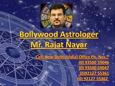 Mr. Rajat Nayar is Known for Bollywood Vastu Services