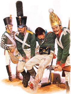 """The Russian Army: • Drummer, Azov Regt., 1805 • Grenadier, Smolensk Regt., 1805 • Sgt., St. Petesburg Grenadiers, 1806 • Private, Paviov Grenadiers, 1806"", Paul Hannon"