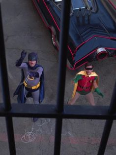 Batman & Robin from the '60's TV Series