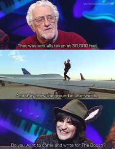 NMTB Bernard Cribbins' The Mighty Boosh!