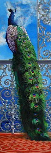Peacock Art...Byt Artist Neeharika Donau...