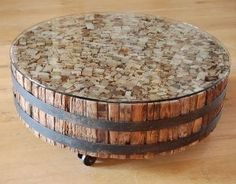 Reclaimed wood/iron coffee table |wowpieces