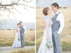 FROM THE ARCHIVES Real Wedding at The Cowshed {MoniQue