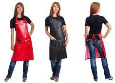 Pvc Apron, Hairdresser, Dresses For Work, Female, Aprons, Fashion, Moda, Fashion Styles, Apron Designs